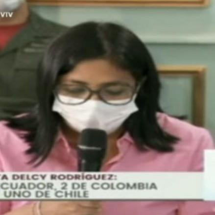 Diario Frontera, Frontera Digital,  DEL CY RODRÍGUEZ, Nacionales, ,Delcy Rodríguez informó que hay 15 nuevos casos de COVID-19 en Venezuela:  Cifra total es de 455 #14May