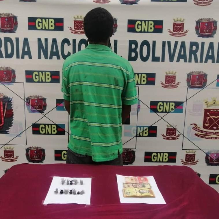 Diario Frontera, Frontera Digital,  GNB, Sucesos, ,GNB atrapa microtraficante con marihuana en Las González