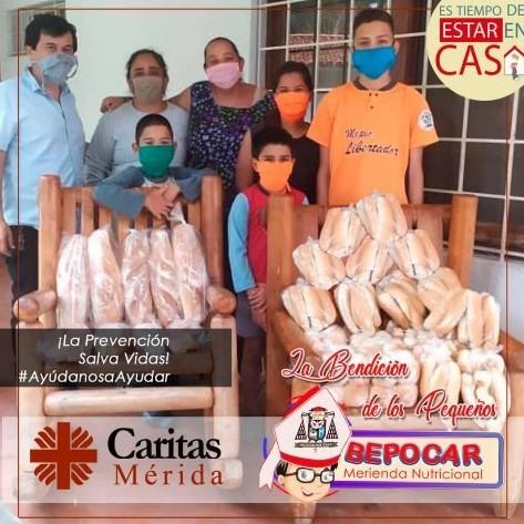 """Diario Frontera, Frontera Digital,  CÁRITAS MÉRIDA, Regionales, ,Cáritas Mérida inicia proyecto """"Merienda Nutricional Bepocar"""""""
