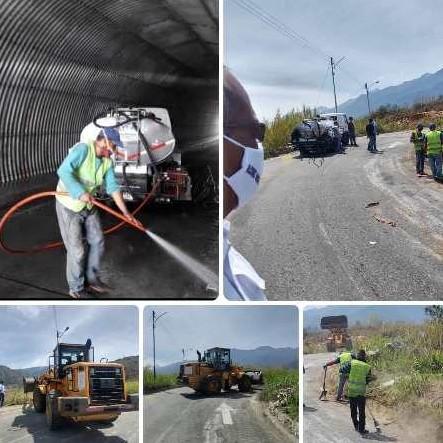 """Diario Frontera, Frontera Digital,  ALCALDÍA DE MÉRIDA, Regionales, ,Con éxito culminó plan especial de limpieza y desinfección del enlace vial """"Pedro Meza"""""""