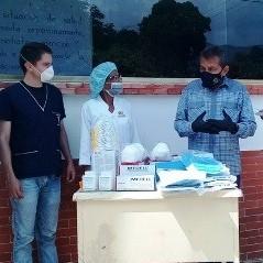 Diario Frontera, Frontera Digital,  TORONDOY, Panamericana, ,Ambulatorio rural II Torondoy  recibió equipos de protección para el personal