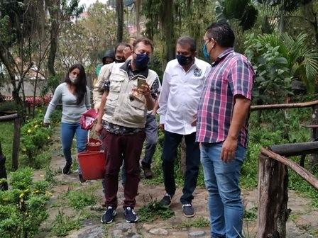 Diario Frontera, Frontera Digital,  GOBIERNO DE MÉRIDA, Regionales, ,Gobernador Ramón Guevara visitó el zoológico  y constató el buen estado de las especies