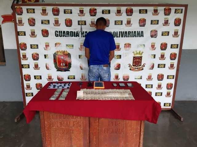 Diario Frontera, Frontera Digital,  GNB, Sucesos, ,Comando Rural de la GNB captura  micro traficante de marihuana en Santa Elena de Arenales