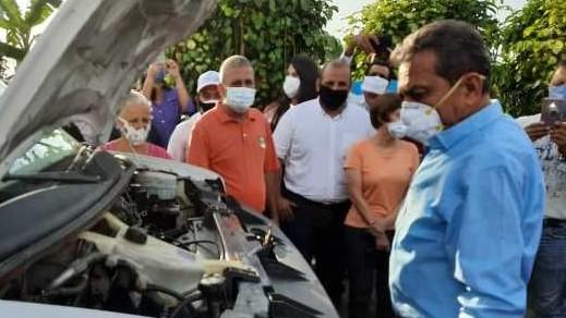 http://fronteradigital.com.ve/Gobernador de Mérida entregó ambulancia al Ambulatorio Rural II La Palmita