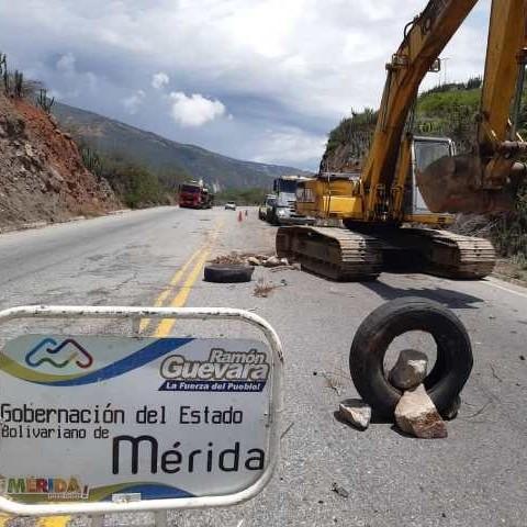 Diario Frontera, Frontera Digital,  GOBIERNO DE MÉRIDA, Regionales, ,Gobierno regional inicia rehabilitación de la vialidad