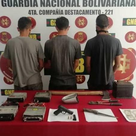 Diario Frontera, Frontera Digital,  GNB, Sucesos, ,GNB desmanteló banda delictiva ' Los Astros' en Chamita