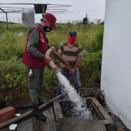 """Diario Frontera, Frontera Digital,  AGUIAS DE MÉRIDA, Panamericana, ,Hospital """"Hugo Chávez Frías"""" de El Vigía  fue dotado con 116 mil litros de agua"""