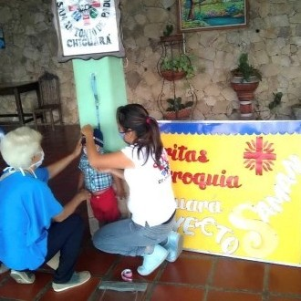 Diario Frontera, Frontera Digital,  CÁRITAS PARROQUIALES, Regionales, ,Cáritas Parroquiales reactivaron sus viveros Saman