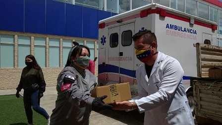 Diario Frontera, Frontera Digital,  EL VIGÍA, Salud, ,Jehyson Guzmán entregó 10 toneladas de insumos al hospital de El Vigía