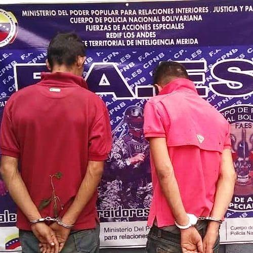 """Diario Frontera, Frontera Digital,  FAES, CICPC, Sucesos, ,FAES Y CICPC APREHENDIÓ A """"YOKOSUNA""""  Y """"EL COCO""""  POR HOMICIDIO OCURRIDO EN EJIDO"""