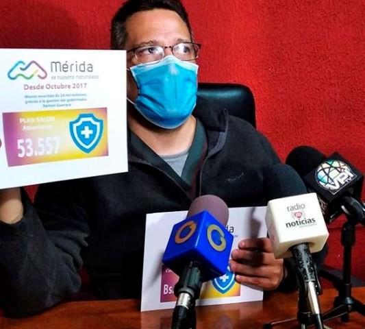 Diario Frontera, Frontera Digital,  PLAN SALUD, GOBIERNO DE MÉRIDA, Salud, ,Plan Salud ha prestado más de  53.000 atenciones a empleados de la gobernación