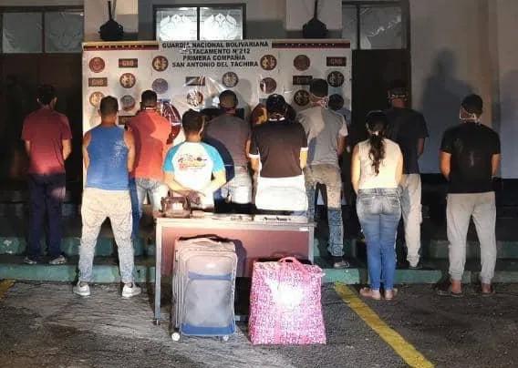 Diario Frontera, Frontera Digital,  DESMANTELAN BANDA, SAN ANTONIO DEL TÁCHIRA, LOS TROCHEROS, Sucesos, ,Desmantelada en San Antonio  banda dedicada al tráfico de connacionales