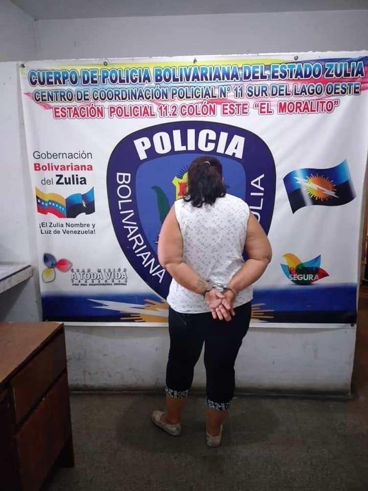 Diario Frontera, Frontera Digital,  POLICÍA NACIONAL, Sucesos, ,APREHENDEN A CIUDADANA VIGÍENSE AL OCASIONAR  DESTROZO A UNA  VIVIENDA EN EL MORALITO DEL ZULIA
