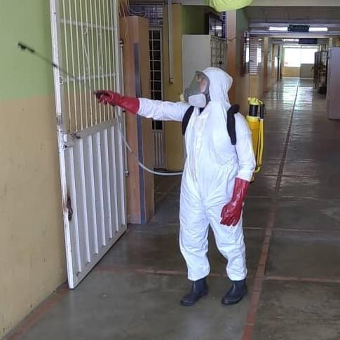 Diario Frontera, Frontera Digital,  MERCADO MURACHI, Regionales, ,Bomberos Mérida realizó jornada de desinfección en el Mercado Murachí
