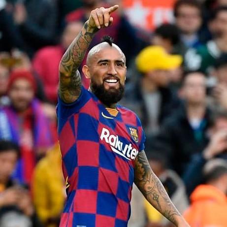 Diario Frontera, Frontera Digital,  BARCELONA, Deportes, ,Vidal sostiene al Barcelona en la lucha