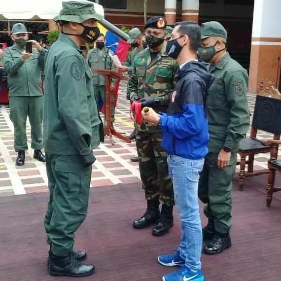 Diario Frontera, Frontera Digital,  JESÚS ARAQUE, PRESIDNETE DEL CLEBM, Regionales, ,Clebm condecoró a oficiales de la 22 Brigada de Infantería Motorizada
