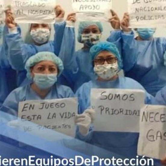 """Diario Frontera, Frontera Digital,  TRABAJADORES DE LA SALUD, Nacionales, ,Trabajadores de la salud rechazaron  el """"aplauso"""" del Gobierno a su labor"""