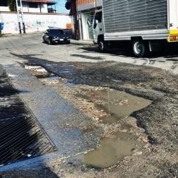 Diario Frontera, Frontera Digital,  HUECOS EN LA OTRA BANDA, MÉRIDA, AGUAS DE MÉRIDA, Regionales, ,En La Otra Banda no hay solución al problema vial