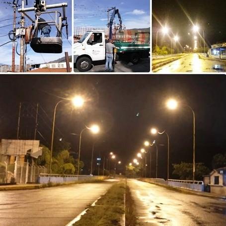 Diario Frontera, Frontera Digital,  ALCALDÍA DE MÉRIDA, VIADUCTO SUCRE, Regionales, ,Completamente iluminado  quedó el viaducto Sucre en La Salle