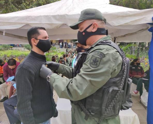 Diario Frontera, Frontera Digital,  CLEBM, JESÚS ARAQUE, Regionales, ,Autoridades castrenses recibieron condecoraciones  por aniversario de Guardia Nacional Bolivariana