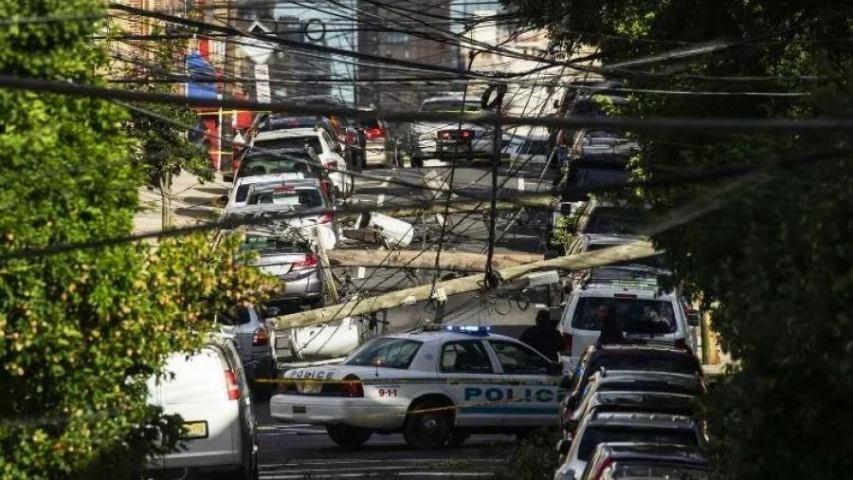 Diario Frontera, Frontera Digital,  NUEVA YORK, Internacionales, ,Tormenta «Isaías» dejó a millones sin luz en Nueva York