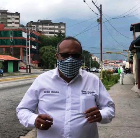Diario Frontera, Frontera Digital,  ALCALDE ALCIDES MONSALVE, Regionales, ,Alcides Monsalve seguiremos dando la cara  con trabajo en medio de esta pandemia a favor de los merideños