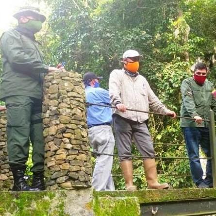 Diario Frontera, Frontera Digital,  MUNICIPIO ANDRÉS BELLO, LA AZULITA, Panamericana, ,Jehyson Guzmán constató avance  de obras en parque Cuevas del Quebradón