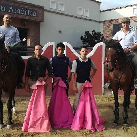 Diario Frontera, Frontera Digital,  LUSITANO´S, ALEXANDER GUILLÉN, Regionales, ,Alexander Guillén reapareció ante el toro, en Lusitano´s