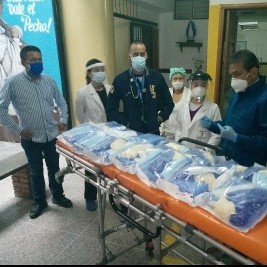 Diario Frontera, Frontera Digital,  AMBULATORIO DE TABAY, Páramo, ,Ambulatorio de Tabay recibió material de bioseguridad  para personal médico y paramédico