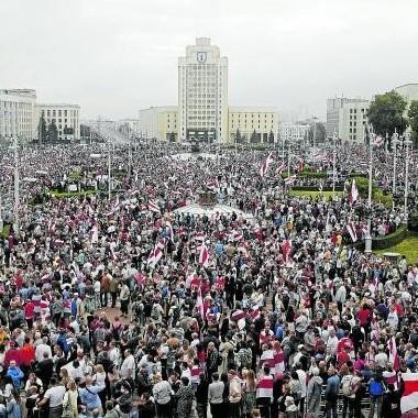 Diario Frontera, Frontera Digital,  BIELORRUSIA, Internacionales, ,Miles de personas vuelven a las calles  en Bielorrusia en contra de Lukashenko