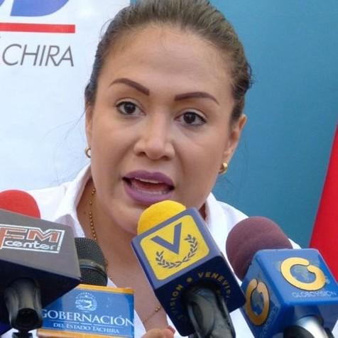 Diario Frontera, Frontera Digital,  GOBERNADORA DEL TÁCHIRA, Nacionales, ,Gobernadora de Táchira ratifica que continúa en AD