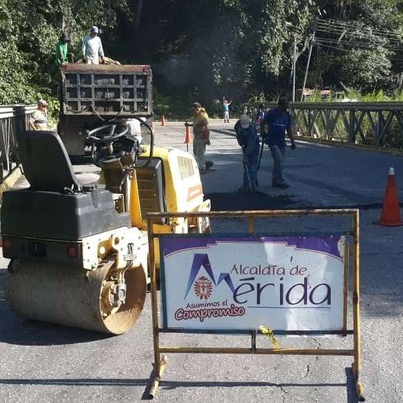 """Diario Frontera, Frontera Digital,  ALCALDÍA DE MÉRIDA, Regionales, ,Alcides Monsalve: """"Más de 560 huecos  hemos tapado en esta gestión"""""""