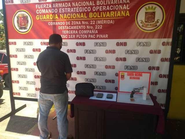 Diario Frontera, Frontera Digital,  GNB, Sucesos, ,GNB capturó a sujeto en El Vigía  por porte ilícito de arma de fuego