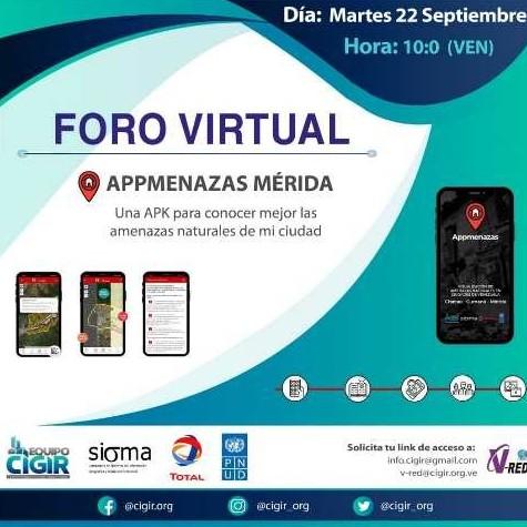 Diario Frontera, Frontera Digital,  APLICACIÓN, Tecnología, ,Lanzan aplicación móvil para conocer riesgos de desastres en Mérida