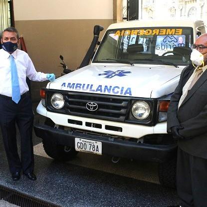 Diario Frontera, Frontera Digital,  GOBIERNO DE MÉRIDA, AMBULANCIA, CAPURÍ, Regionales, ,Ejecutivo regional entregó ambulancia para comunidad de Capurí