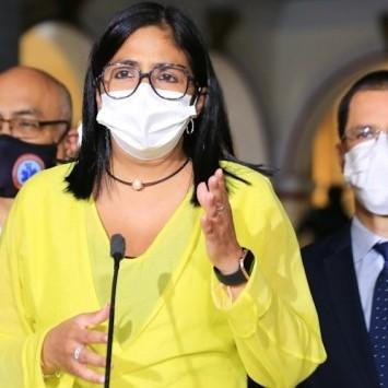Diario Frontera, Frontera Digital,  COVID-19, Nacionales, ,Delcy Rodríguez confirmó 1.127 nuevos casos de Covid-19 y 7 fallecidos