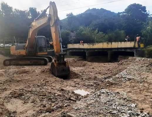 Diario Frontera, Frontera Digital,  QUEBRADA EL PEÑÓN, TOVAR, Mocoties, ,Gobierno Bolivariano inició canalización  de la quebrada El Peñón en el municipio Tovar