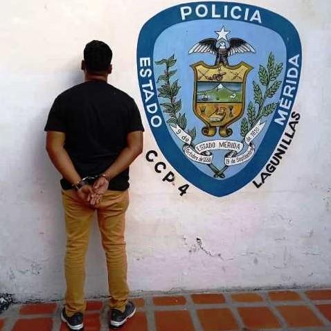 Diario Frontera, Frontera Digital,  LAGUNILLAS, Sucesos, ,POLICÍA COLOCÓ A CIUDADANO A ORDEN DE LA FISCALIA POR VIOLENCIA DE GÉNERO EN LAGUNILLAS