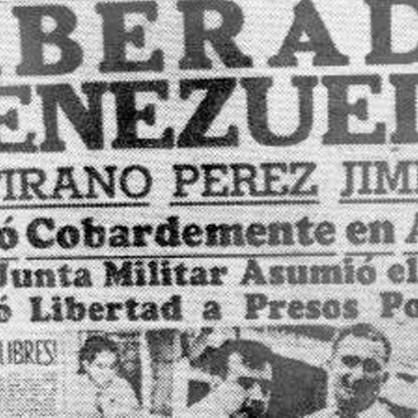 Diario Frontera, Frontera Digital,  23 de enero de 1958, Opinión, ,El 23 de enero, un estado de alma por Asdrúbal Aguiar