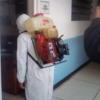 Diario Frontera, Frontera Digital,  GOBIERNO DE MÉRIDA, Regionales, ,Gobierno de Mérida efectuó  segunda jornada de desinfección y fumigación en el edificio Hermes