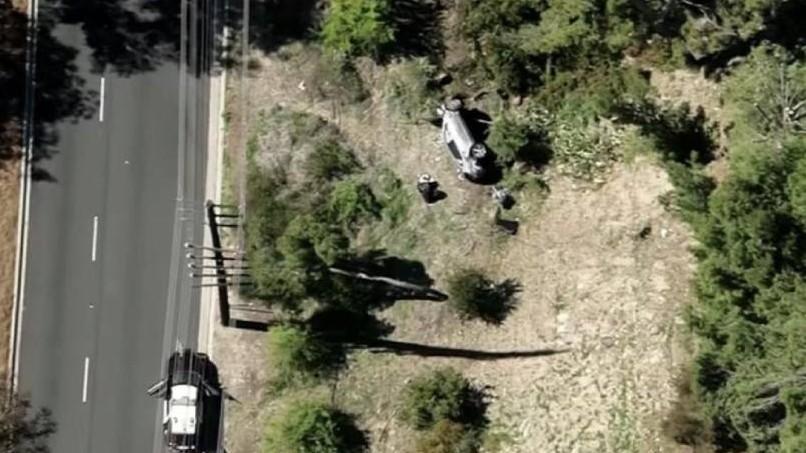 http://fronteradigital.com.ve/El golfista Tiger Woods sufrió un accidente de tránsito