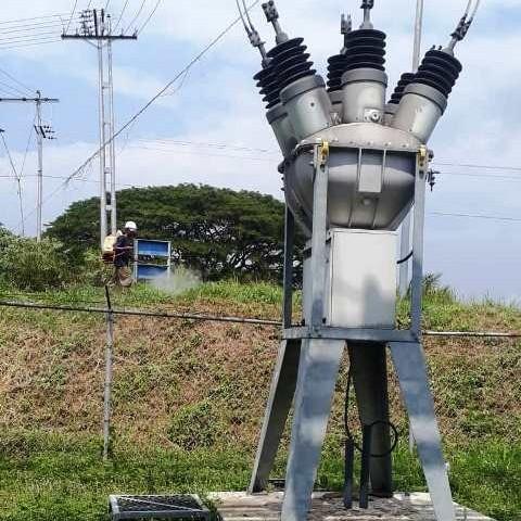 Diario Frontera, Frontera Digital,  CORPOELEC, Panamericana, ,Despejan vegetaciòn de redes eléctricas en Mérida