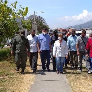 Diario Frontera, Frontera Digital,  IAHULA, Salud, ,Jehyson Guzmán inspeccionó trabajos de recuperación para el IAHULA