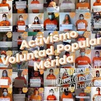 """Diario Frontera, Frontera Digital,  VOLUNTAD POPULAR, Politica, ,Joan Gómez- VP Mérida: """"Migrar no es un delito  y quedarse no es ingenuidad"""""""