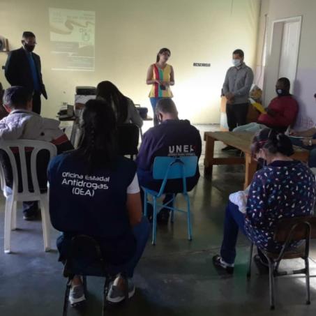 Diario Frontera, Frontera Digital,  OFICINA ESTADAL ANTIDROGAS, Regionales, ,Oficina Estadal Antidrogas actualizó a funcionarios  de Uennapem en materia de drogas