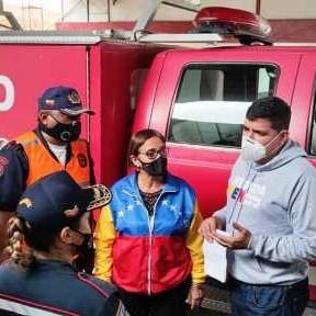 Diario Frontera, Frontera Digital,  CUERPO DE BOMBEROS, Panamericana, ,Jehyson Guzmán entregó camión   contra incendio a bomberos de Tulio Febres Cordero