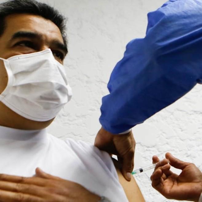Diario Frontera, Frontera Digital,  NICOLÁS MADURO, Nacionales, ,Presidente Maduro recibió la primera dosis de vacuna rusa Spunik V