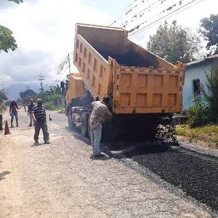 Diario Frontera, Frontera Digital,  ASAFALTAN TRAMO DE LA TRONCAL 001, MÉRIDA, Panamericana, ,Gobierno bolivariano coloca 42 toneladas de asfalto  en la Troncal 001 en tramo de Mérida