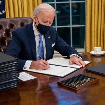 Diario Frontera, Frontera Digital,  JOE BIDEN, EE.UU., Internacionales, ,Biden promulga estímulo de USD 1,9 billones