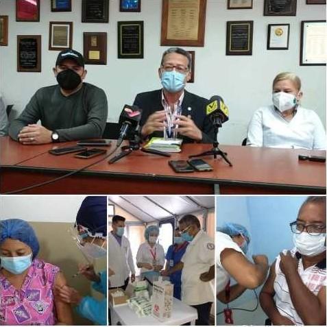 Diario Frontera, Frontera Digital,  VACUNACIÓN, MÉRIDA, VENEZUELA, Salud, ,El 98 % del personal del Iahula y el 100 %  del Hospital Hugo Chávez vacunado con la Sputnik V